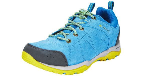 Columbia Fire Venture Shoes Women WP oxide blue / ginkgo